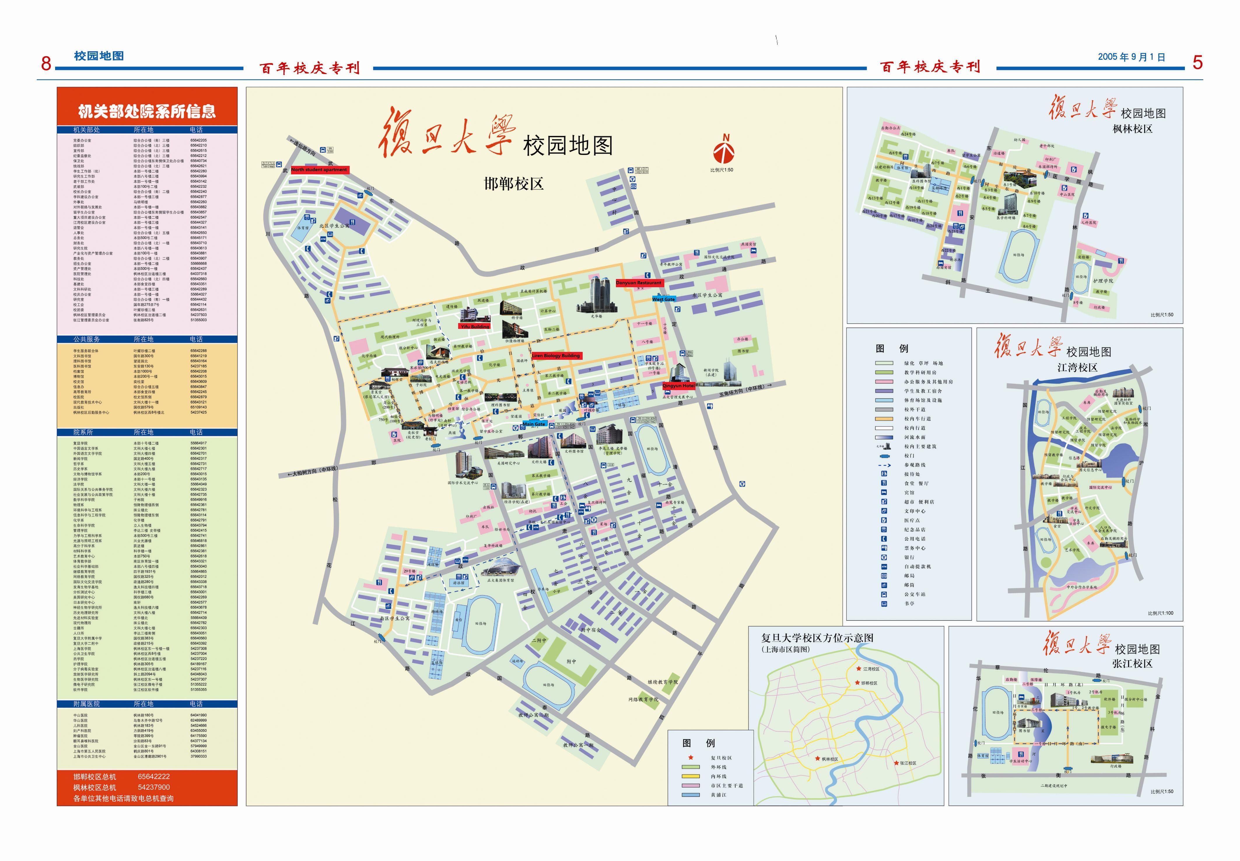 université fudan chine